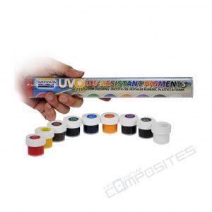 UVO pigmentu komplekts 9x13g