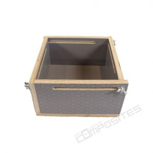 Коробка трансформируемая 20х20х10 см