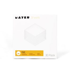 Mayku Cast Sheets 30 loksnes 0.5mm