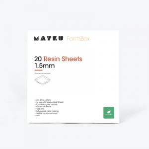 Mayku Resin Sheets 20 loksnes 1.5mm