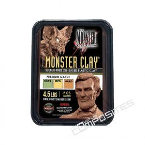 Monster Clay brūna modelēšanas masa 2.05kg